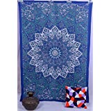 Star Mandala Indian Art Wall Hanging Bed Cover Hippi Tapestry Home Decorative