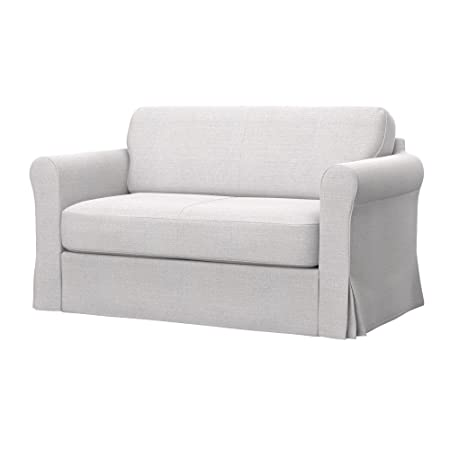 Soferia - IKEA HAGALUND Funda para sofá Cama, Naturel White ...