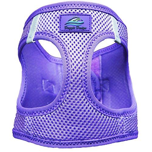 American River Ultra Choke Free Dog Harness (XXXL, Paisley Purple) (Pull Paisley)