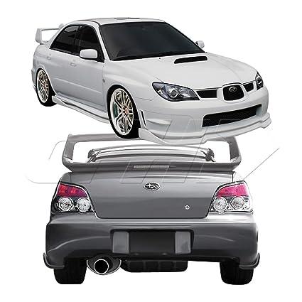 2007 Subaru Impreza Wrx >> Duraflex 108003 2006 2007 Subaru Impreza Wrx Sti 4dr Duraflex C Speed 2 Body Kit 5 P
