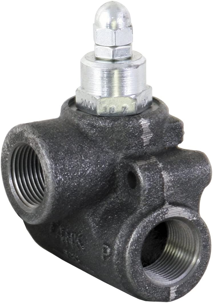 Valve,Inline Relief,1In Npt,30 Gpm Buyers Products HRV10018 In-Line Relief Valve
