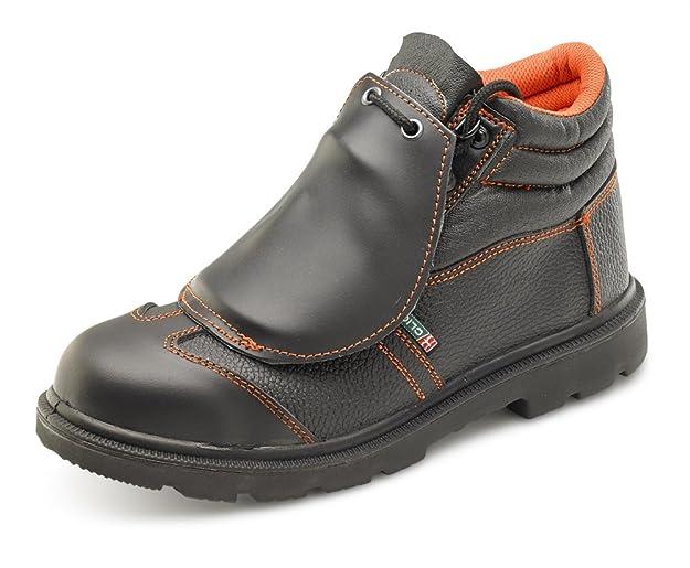 B-Click calzado metatarso botas de seguridad S1P sintética/de goma negro: Amazon.es: Amazon.es