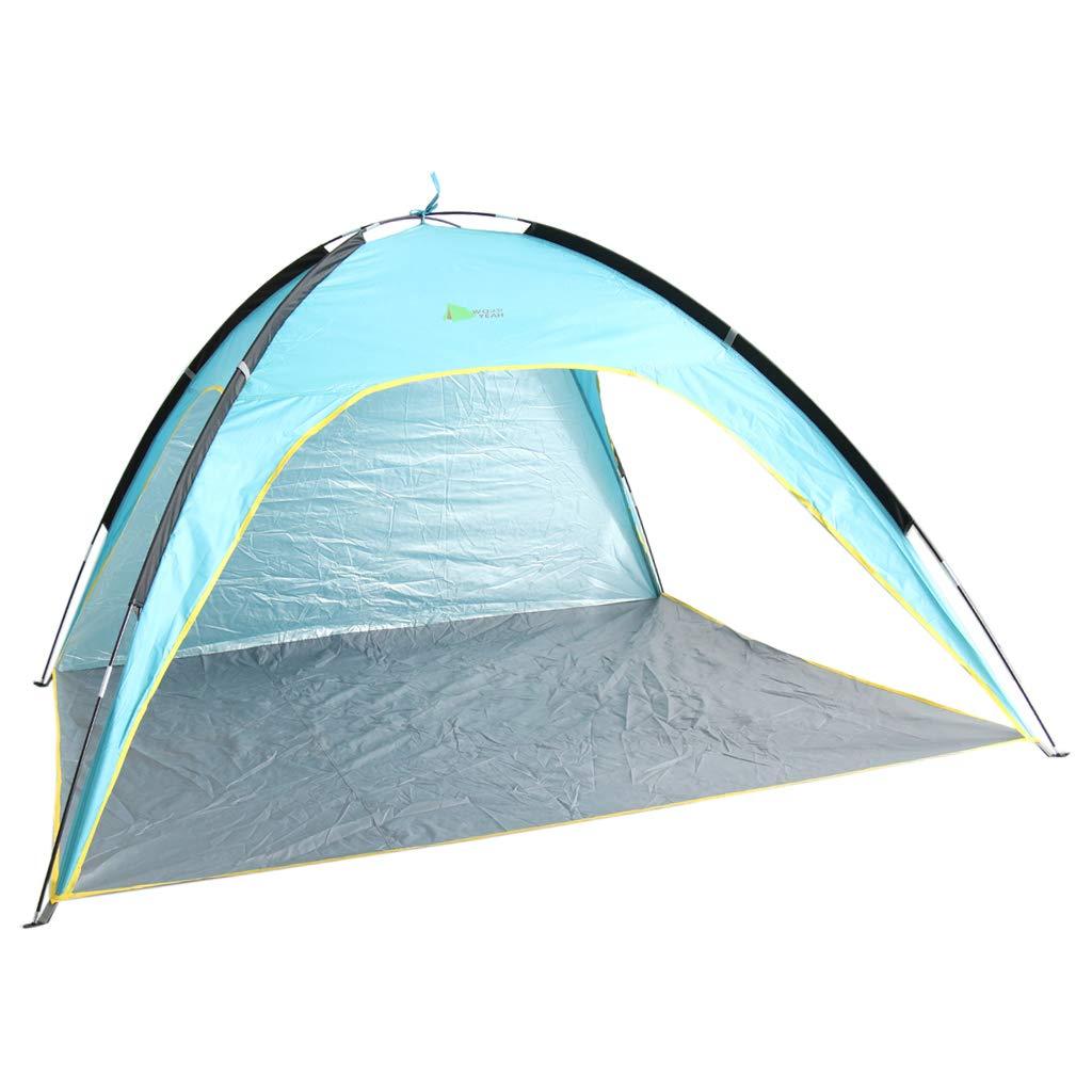 SM SunniMix ポータブル ビーチテント キャノピー 紫外線防止 夏 アウトドア キャンプ サンシェード シェルター   B07LFT4LYT