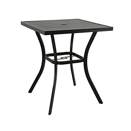 Amazoncom Ulax Furniture Outdoor Patio Bar Table Counter Height