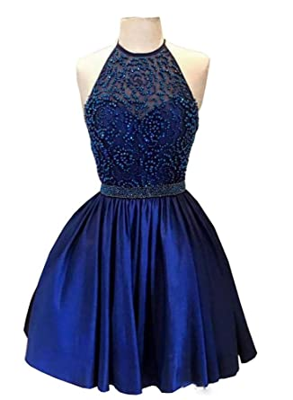 daa13362e4c Inmagicdress Homecoming Dresses for Juniors Short Blue Graduation Dress for  8th Grade 63 at Amazon Women s Clothing store