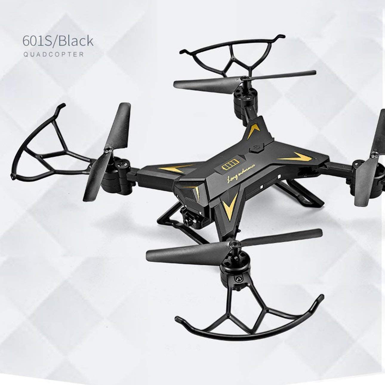 Liobaba KY601S 4 Channel Long Lasting Foldable Arm Remote Control Quadcopter Camera Drone Aircraft 0.3MP