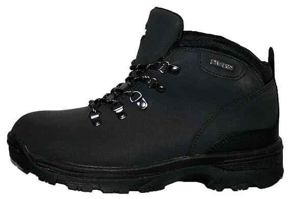 2985b0930c1 Northwest Territory Ladies Trek Leather Lightweight Waterproof,  Walking/Hiking/Trekking Boot. (UK3, Black)