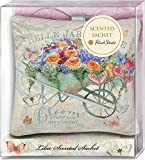 Punch Studio Belle Jardin Lavender Scented Fabric Pillow Sachets (45987)