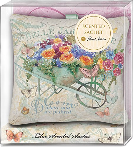 Punch Studio Belle Jardin Lavender Scented Fabric Pillow Sachets (45987) Pillow Sachet