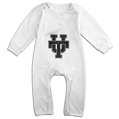 33f58bfef Say7en Baby Boy Girl Romper University Of Texas At Austin Athletics Logo  White Size 6 M