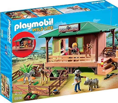 (PLAYMOBIL® Ranger Station with Animal Area)