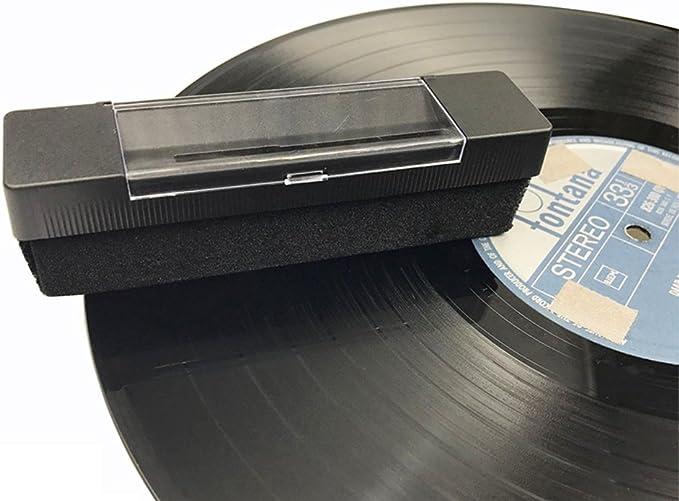 Amazon.com: Kit de limpieza de discos de vinilo, cepillo de ...