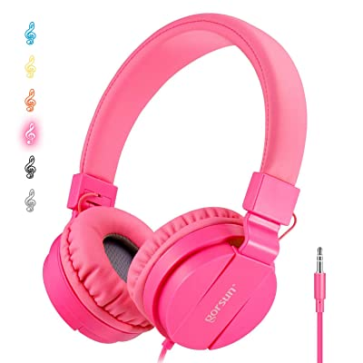 ONTA gorsun Foldable On Ear Audio Adjustable Lightweight Headphone