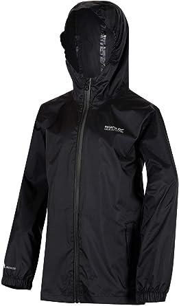 Regatta Kids Packaway Jacket Waterproof /& Breathable Kids Raincoat Pack a mac