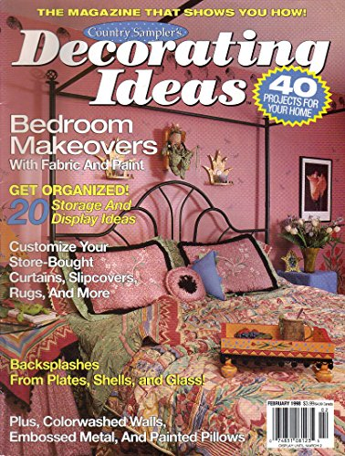 Decorating Ideas February 1998 Volume 6 No. 1, Country Sampler's Bedroom Makeovers