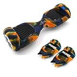 Jansroad full-body silicone Protector case per 16,5cm Smart Two Wheels monociclo elettrico scooter, facile da installare e pulito