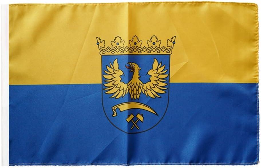 Flaggenfritze/® Flagge Oberschlesien 30 x 45 cm
