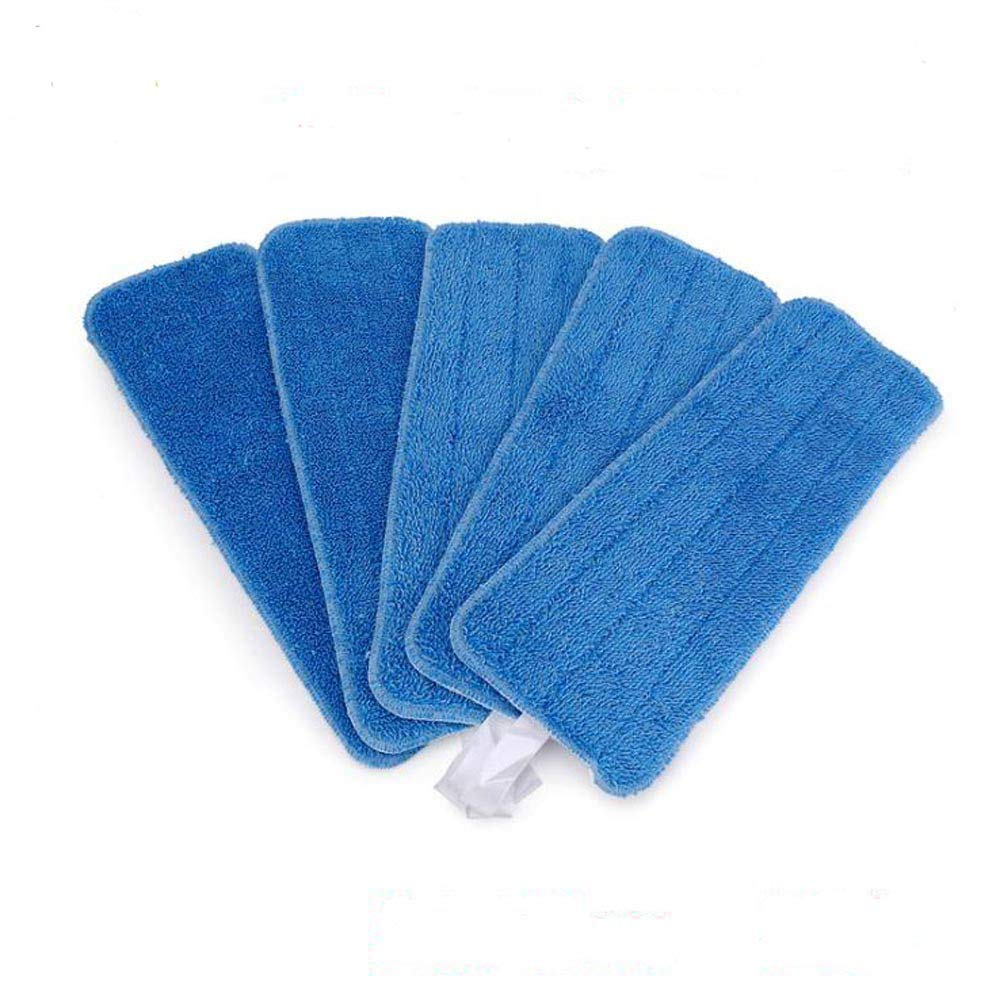 Microfiber Spray Mop Replacement Heads for Wet/Dry Mops by Re-Up Compatible With Bona Floor Care System (5 Pack)