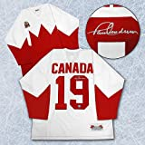 Paul Henderson 1972 Team Canada Autographed Summit Series Jersey - Autographed Hockey Jerseys