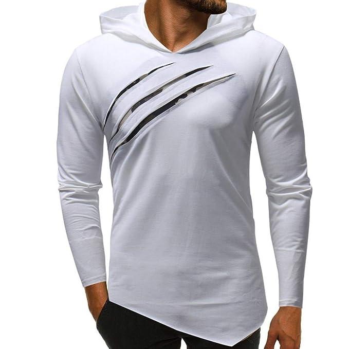 Camisa De Manga Larga con Capucha De para Camuflaje Puro Color Hombre Cómodo Camisa De Solapa