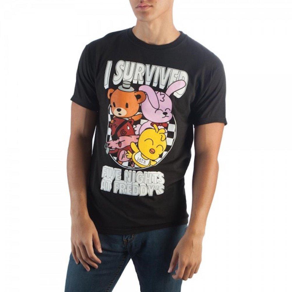 FAZBEAR I Survived Five Nights at Freddy/'s Custom T-Shirt Birthday party FNAF