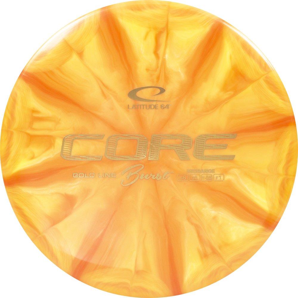 Latitude 64ゴールドラインバーストCoreミッドレンジGolf Disc [ Colors May Vary ] B07D1986PX 170-172g