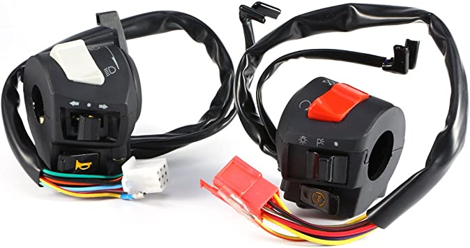 For Electric Cars //Motorcycle Switch Replacement On Off Button Handlebar Access