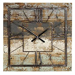 Aspire Weston Square Wall Clock, Multicolor