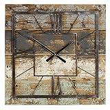Aspire Weston Square Wall Clock, Multicolor