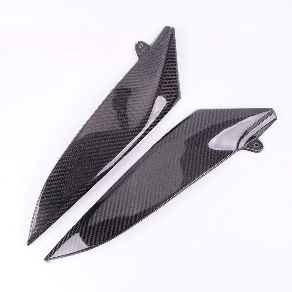 Wotefusi Motorcycle New 2 Pieces Pair Left & Right Carbon Fiber Tank Side Cover Panel Part Fairing Bodywork For Yamaha R1 2004-2006 2005