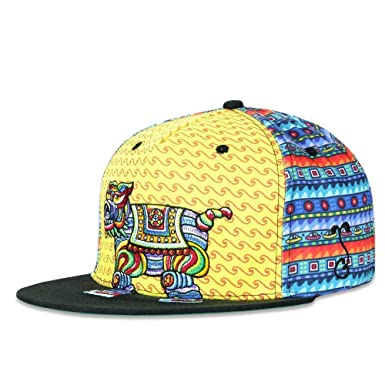 0d4dfa95 Image Unavailable. Image not available for. Color: Grassroots California  Chris Dyer Bear Elephant Dog Fitted Hat