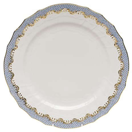 Herend Fish Scale Light Blue Service Plate  sc 1 st  Amazon.com & Amazon.com | Herend Fish Scale Light Blue Service Plate: Dinnerware ...