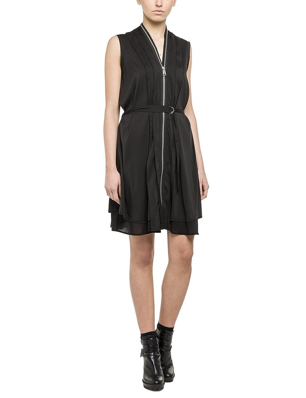 Replay Women's Kleid sleeveless Dress