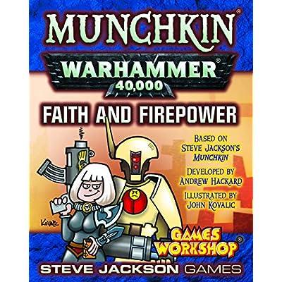 Munchkin Warhammer 40000 Faith and Firepower: Toys & Games