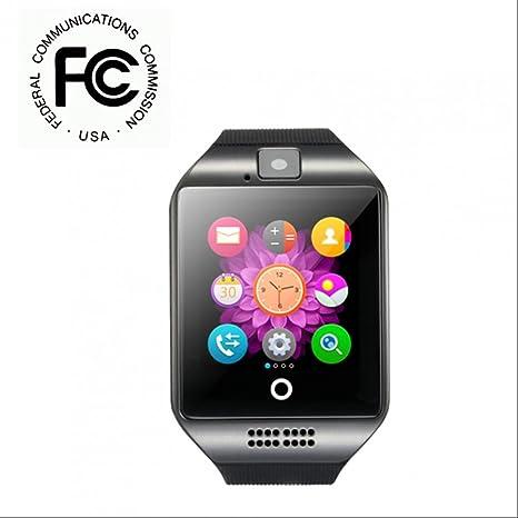 Reloj Inteligente Smartwatch con Cámara,Notificación de ...
