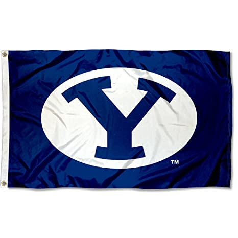 BYU Brigham Young University Large College Flag