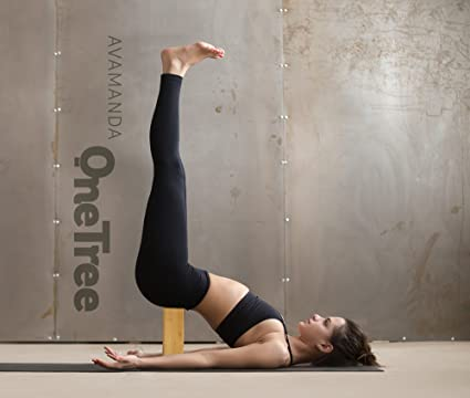 OneTree - bloque de bambú para yoga/meditación, bloque de madera de bambú 100%: Amazon.es: Deportes y aire libre
