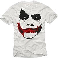 MAKAYA Camiseta Joker Hombre