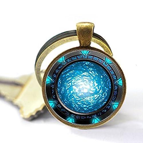 Amazon.com: Stargate Portal Atlantis Llavero, Stargate ...