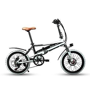 Richbit® Nueva RT700 20 Bicicleta plegable eléctrico de 250 vatios Motor Shimano TZ