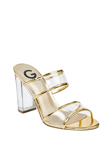 a555128b3ed G by GUESS Women's Brayla Lucite Mules