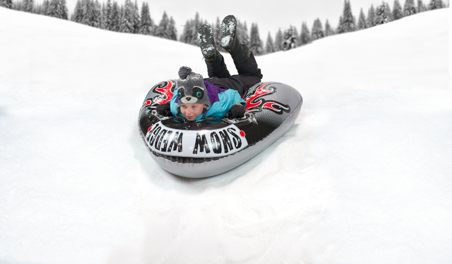 Poolmaster Snow Wedge Inflatable Saucer for Snow/Water by Poolmaster (Image #2)