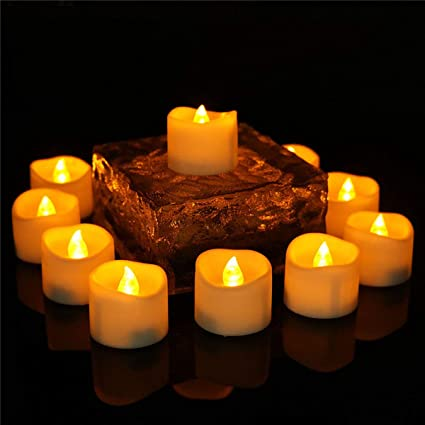 Amazon Wholesale Votive Candles Flameless With Timer Wave Open
