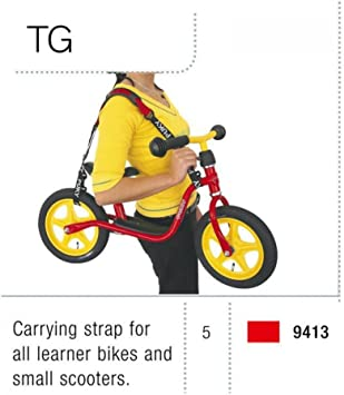 Puky 9413 - Correa para Transportar Bici: Amazon.es: Juguetes y juegos