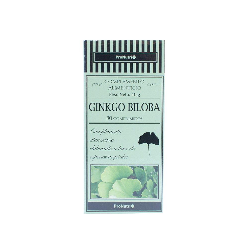 ProNutri Ginkgo Biloba - 3 Paquetes de 80 Cápsulas: Amazon.es: Salud y cuidado personal