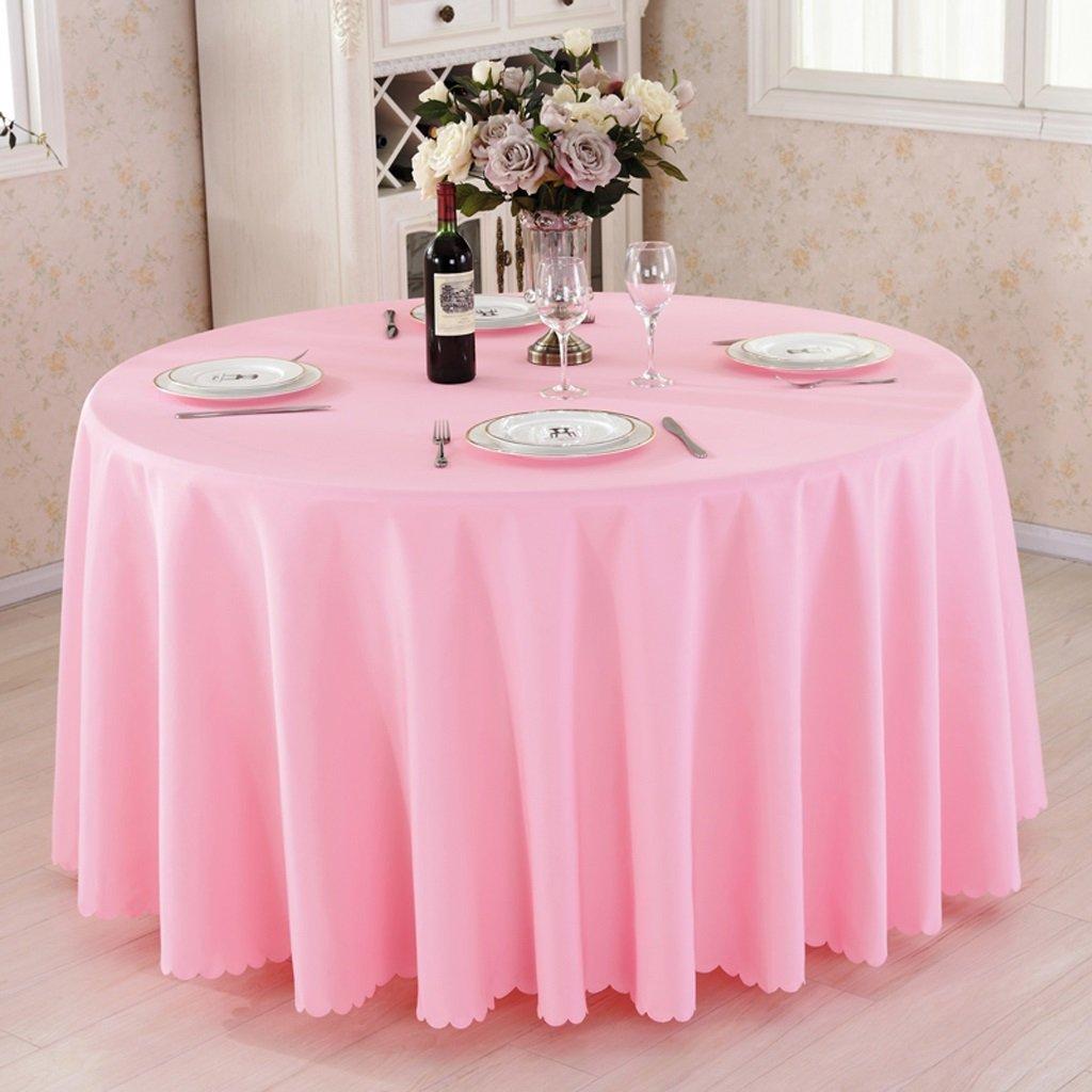 Promoción por tiempo limitado HAOLIA Espinoso Hotel Mesa redonda Mantel Rectángulo Cuadrado redondo rosa tovaglie ( Tamaño : 280cm )