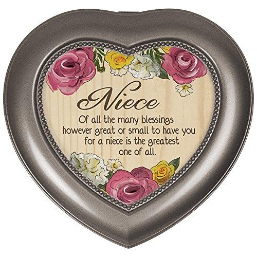 人気が高い Carson Niece Carson B072KGNNND Home Accents Music Box, Niece Blessings B072KGNNND, ライフバランス:0d5587a5 --- mrplusfm.net