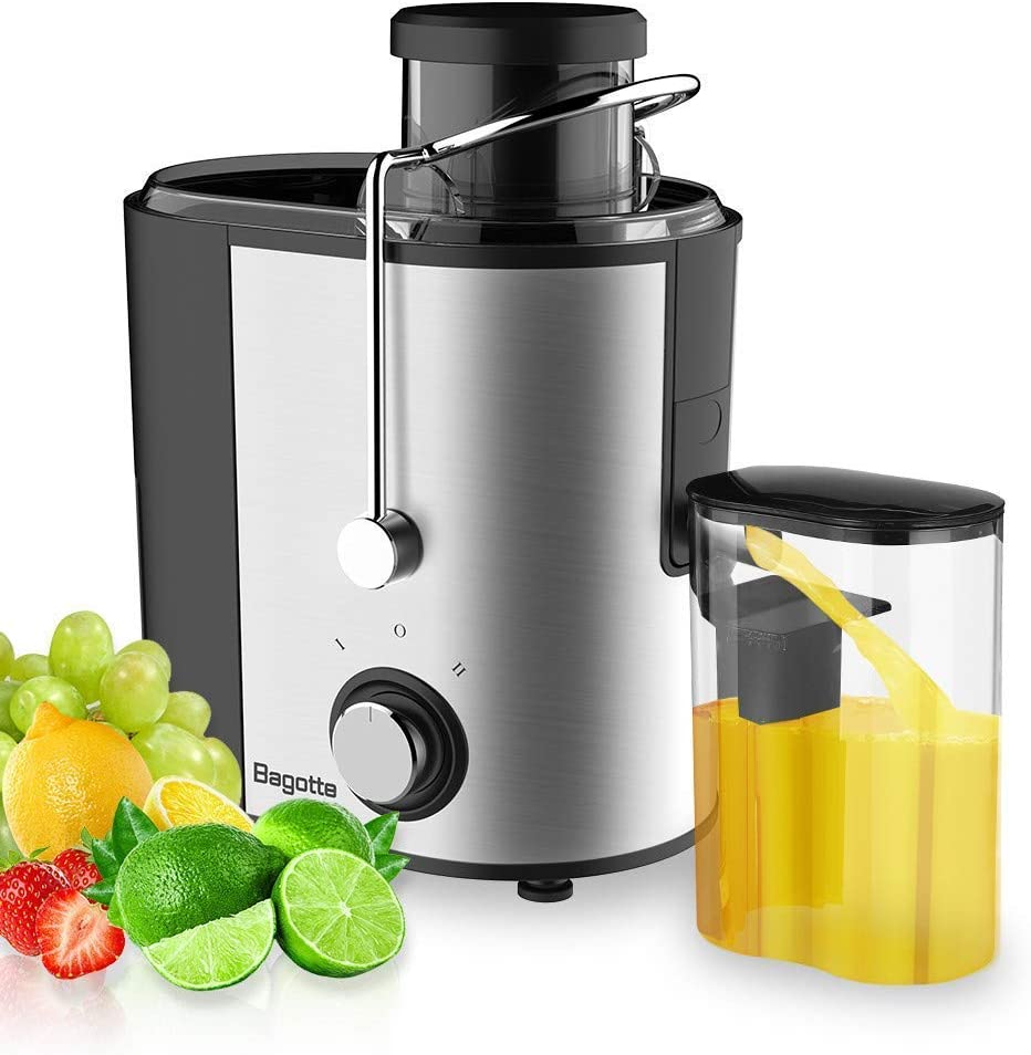 Juicer Machines Bagotte Fruit and Vegetable Juicer for kale