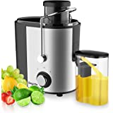 Juicer, Bagotte Juicer Machine Fruit and Vegetable Juicer Compact Juicer Extractor Wide Mouth Centrifugal Juicer, Easy…