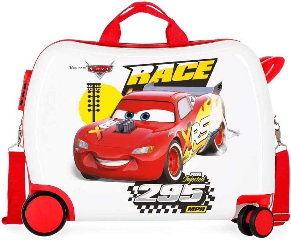 Maleta infantil 2 ruedas multidireccionales Cars Joy